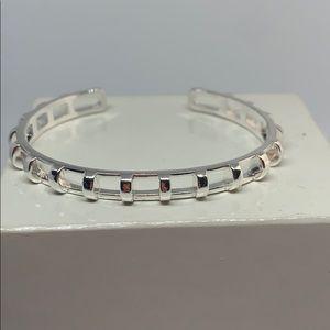 Stella & Sot silver cage cuff bracelet